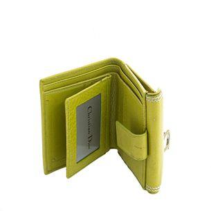 Carteira-Christian-Dior-Saddle-Verde
