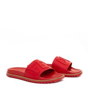 Sandalia-Slide-Fendi-Fussbets-Vermelha