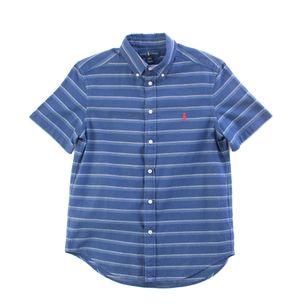 64148-Camisa-Infantil-Ralph-Lauren-Manga-Curta-Azul-Listrada-1