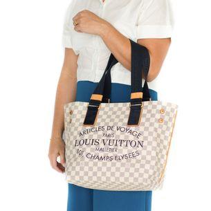 Bolsa-Louis-Vuitton-Damier-Azur-Articles-de-Voyage
