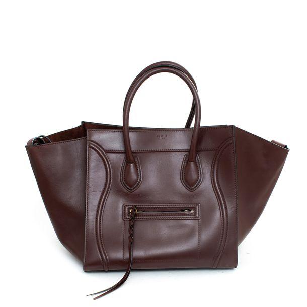 Bolsa-Celine-Luggage-Marrom