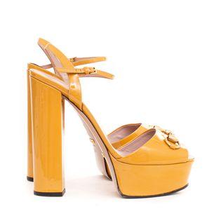 Sandalia-Gucci-Horsebit-Mostarda