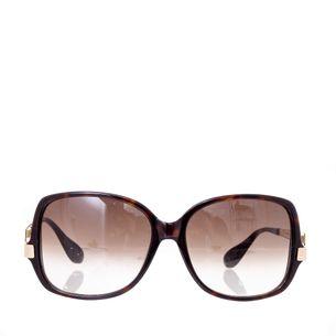 Oculos-Marc-Jacobs-MMJ-087-S-ANT-JS-Tartaruga-Escura-Com-Haste-Dourada