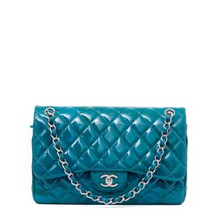 Bolsa-Chanel-Verniz-Azul