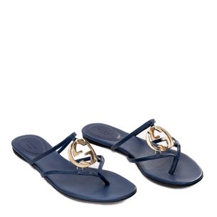 Sandalia-Rasteira-Gucci-Azul