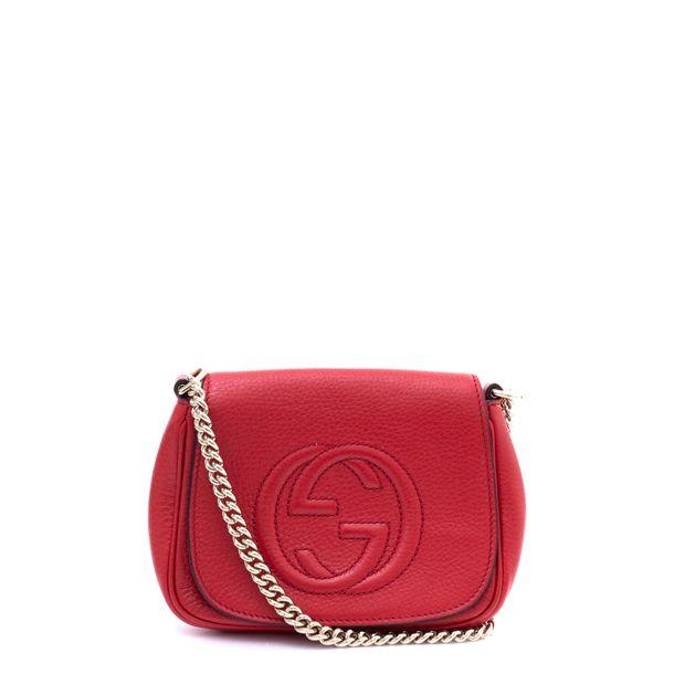 Bolsa-Gucci-Soho-Chain-Vermelha