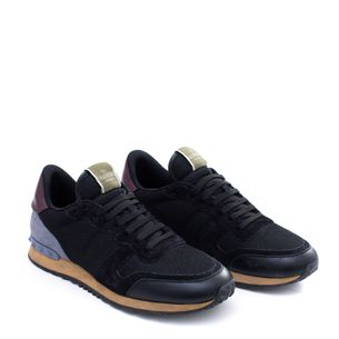Tenis-Valentino-Rockrunner-Athletic-Sneakers-Preto