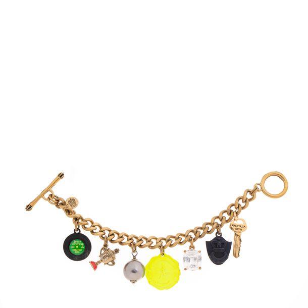 Bracelete-Juicy-Couture-Bronze-com-Pingentes-Maxi-Diversos