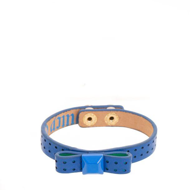Bracelete-Juicy-Couture-Couro-Azul-Laco-com-Stud