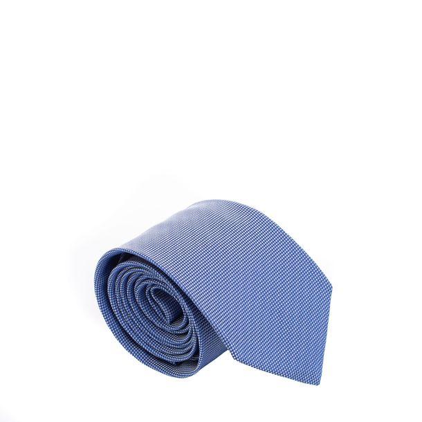 Gravata-Hugo-Boss-Estampada-Azul