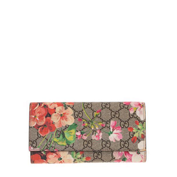 Carteira-Gucci-GG-Blooms-Continental-Guccissima