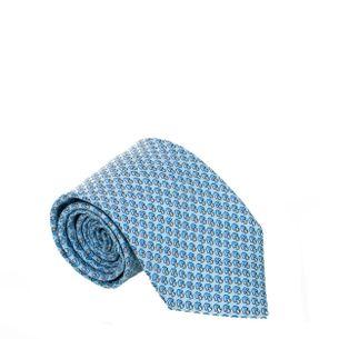 Gravata-Hermes-Azul-Claro-Cogumelo