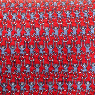 Gravata-Hermes-Vermelha-Com-Macaco-Azul