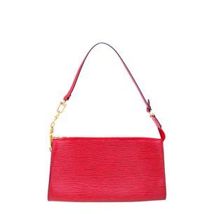 Pochette-Louis-Vuitton-Epi-Vermelha