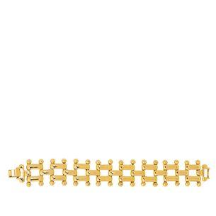 Pulseira-elos-e-bolinhas-dourada-Vintage