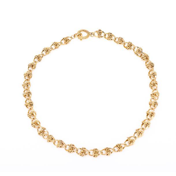 Colar-Givenchy-corrente-dourada-elos-Vintage