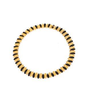 Colar-gotas-dourado-e-preto-Vintage