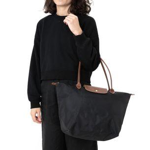 Bolsa-Longchamp-Tote-Le-Pliage-Preta