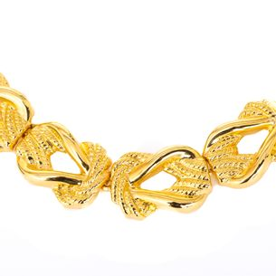 Colar-dourado-trancado-Vintage