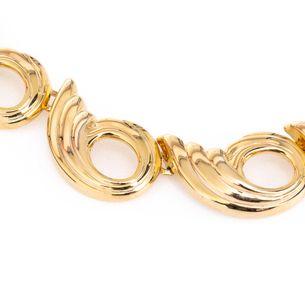 Colar-dourado-caramujo-Vintage