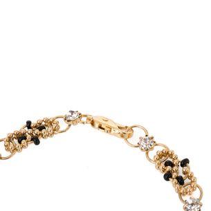 Pulseira-dourada-elos-e-micangas-pretas