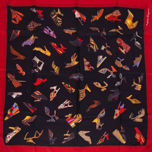 Lenco-Salvatore-Ferragamo-Preto-Vermelho-e-sapatos