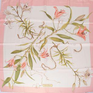 Lenco-Salvatore-Ferragamo-Branco-rosa-e-flores