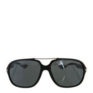 Oculos-Prada-Preto-e-Prateado-Masculino