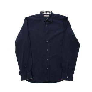 Camisa-Burberry-Azul-Marinho