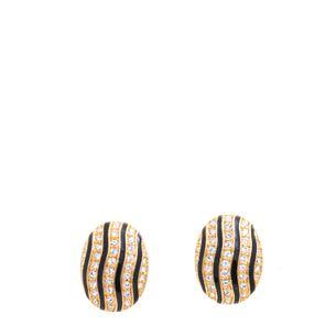 Brinco-Vintage-Pressao-Oval-Dourado-Preto-Strass