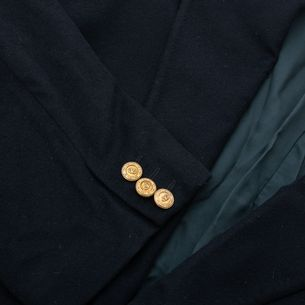 Blazer-Valentino-Vintage-Cashmere-Azul-Marinho