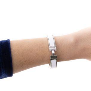 Bracelete-Clic-Clac-H-Hermes-Branco