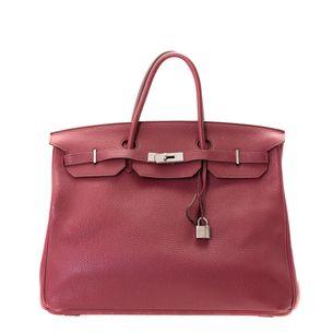 Bolsa-Hermes-Birkin-40-Rouge-Vermelha
