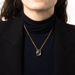 Colar-H.Stern-Ouro-Amarelo-e-Cristal-de-Rocha-Colecao-Pedras-Roladas