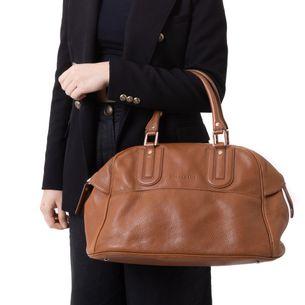 Bolsa-Longchamp-Caramelo