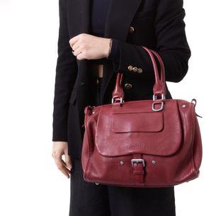 Bolsa-Balzane-Longchamp-Vermelha