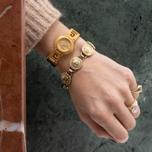 Relogio-Gianni-Versace-Signature-Ouro-Vintage