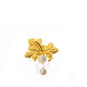 Broche-Swarovski-Dourado-Uva