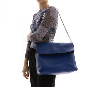 Bolsa-Celine-Gourmette-Azul
