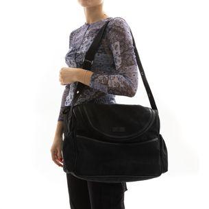 Bolsa-Gucci-Diaper-Bag-Preta-Monograma