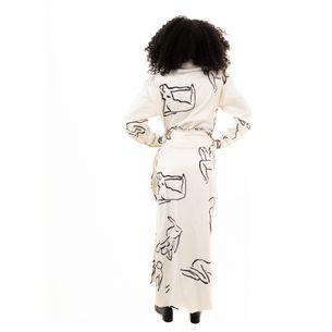 Vestido-Transpassado-Estampa-Silhuetas