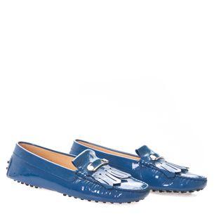 Mocassim-Tods-Azul-Verniz