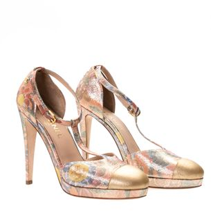Sapato-Chanel-Estampa-Flores