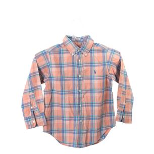 Camisa-Ralph-Lauren-Xadrez-Salmao-e-Azul-Infantil