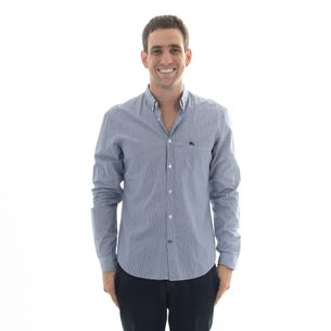 Camisa-Burberry-Listrada-Azul