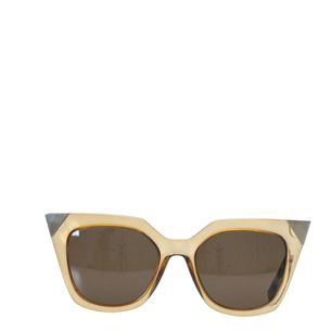 Oculos-Fendi-Iridia-FF-0060-S-Dourado-e-Bege