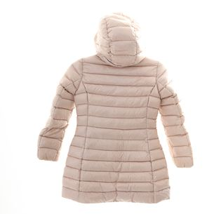 Casaco-Sobretudo-Moncler-Metalasse-Rosa-Claro-Infantil