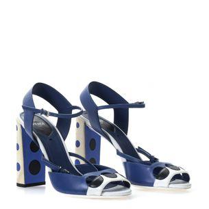 Sandalia-Fendi-Polka-Couro-Azul-e-Branco