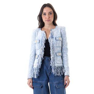 65694-Blazer-Balmain-Jeans-com-Franjas-1