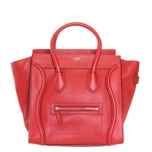 Bolsa-Celine-Luggage-Vermelha